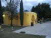 Acceso a las oficinas de la Escuela de futbol Jaguares