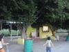Area de palapas y estanquilla de la Escuela de futbol