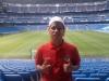 Cristian Ivan Ruiz del equipo Jaguares 1992 B  en estadio Santiago Bernabeu (España) 2010