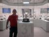 Cristian Ivan Ruiz del equipo Jaguares 1992 B en sala de trofeos Real Madrid (España) 2010